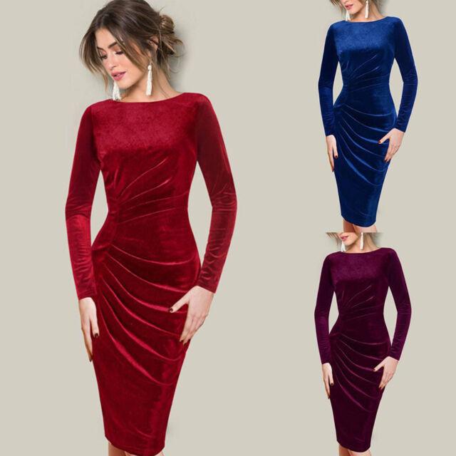 Long sleeve backless dress