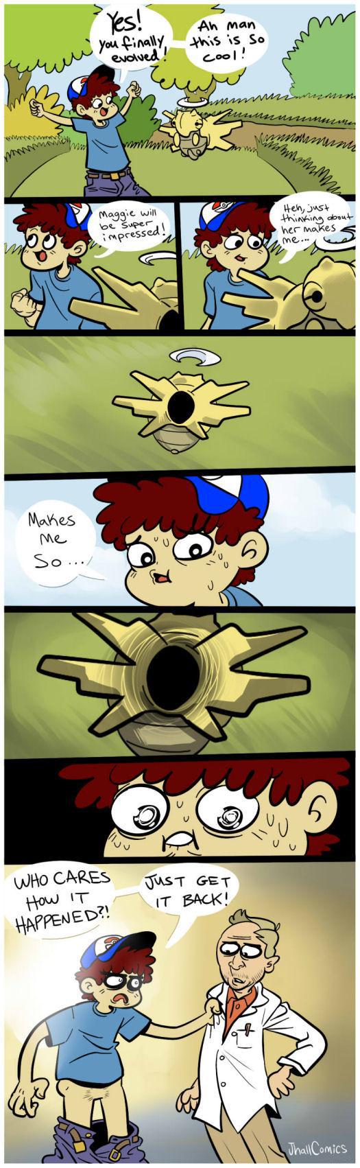 Comic nude pokemon sex