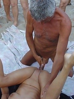 Voyeur porn on beach