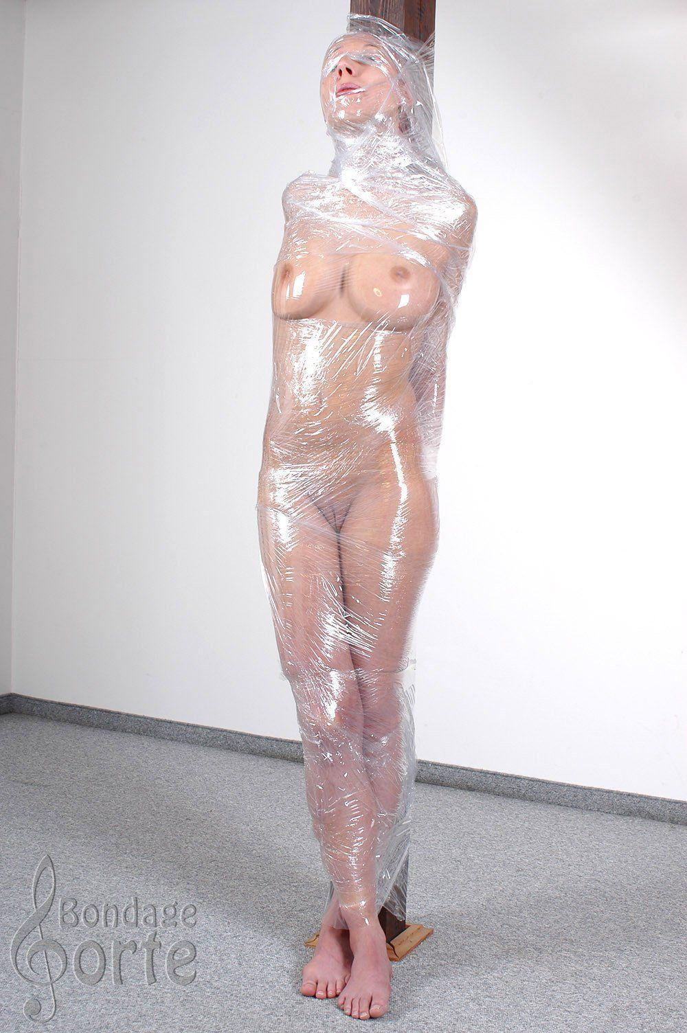Pics wrapped in plastic wrap sex