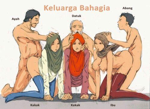 Hijab porn pic anime