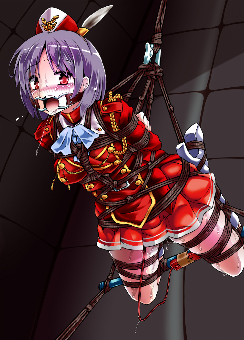 Anime hentai bondage rope