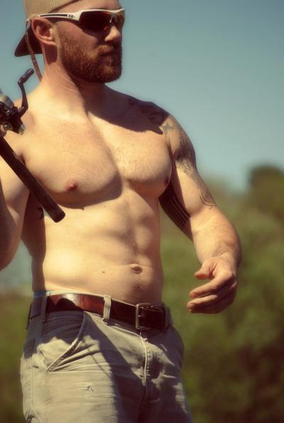 Redneck men country hot