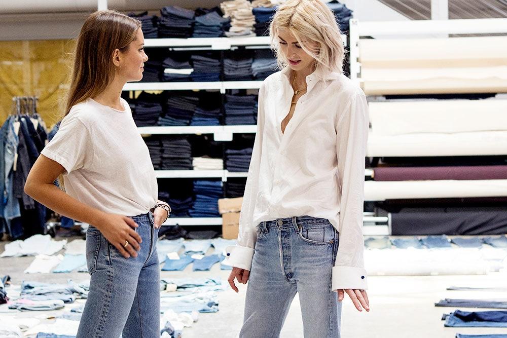 Levis vintage style jeans