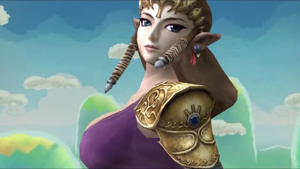 Zelda and samus nackt