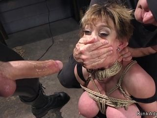 Mature granny mom wife milf bondage
