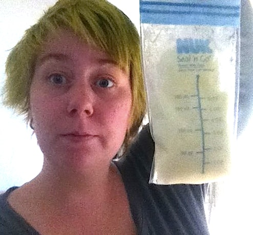 Man tasting breast milk stories