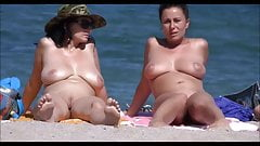 Big nude tit beach