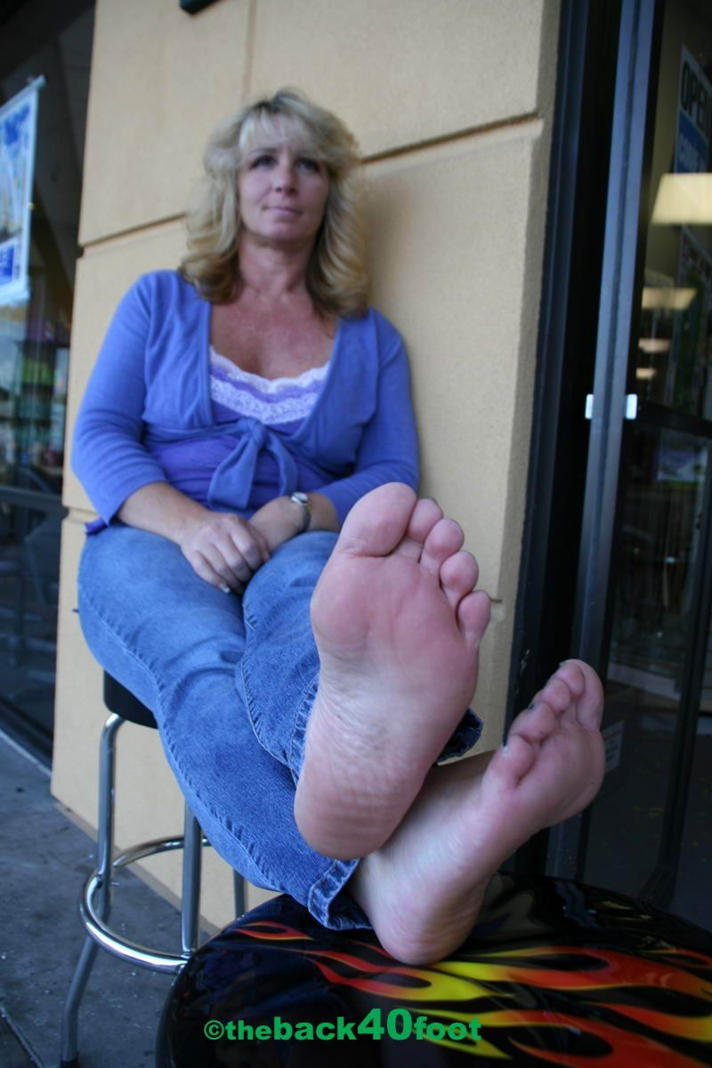 Feet russian soles woman mature