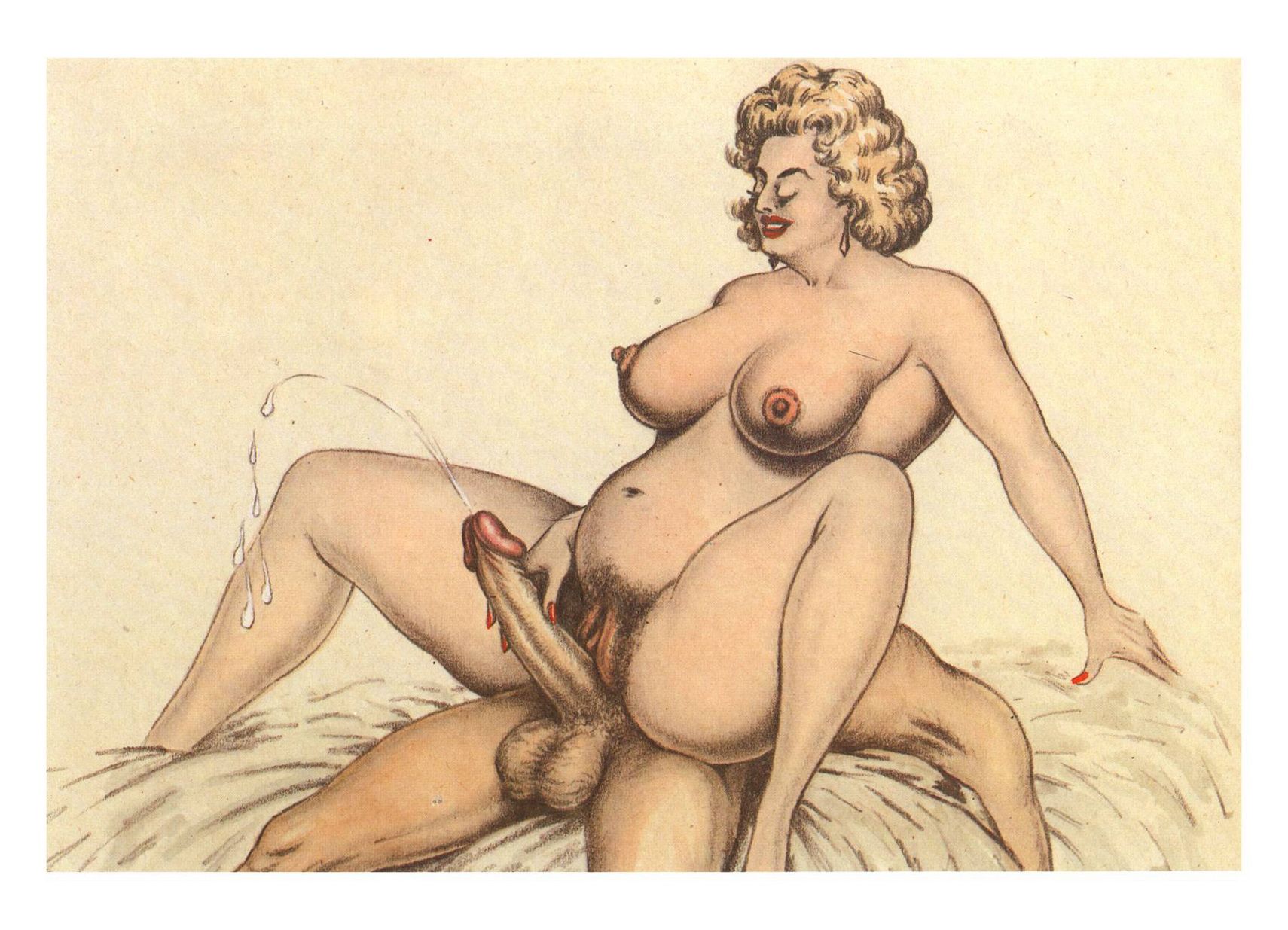 Vintage erotic cartoon gallery
