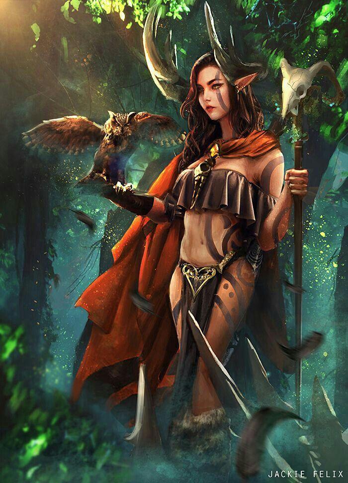 Elf fantasy art women
