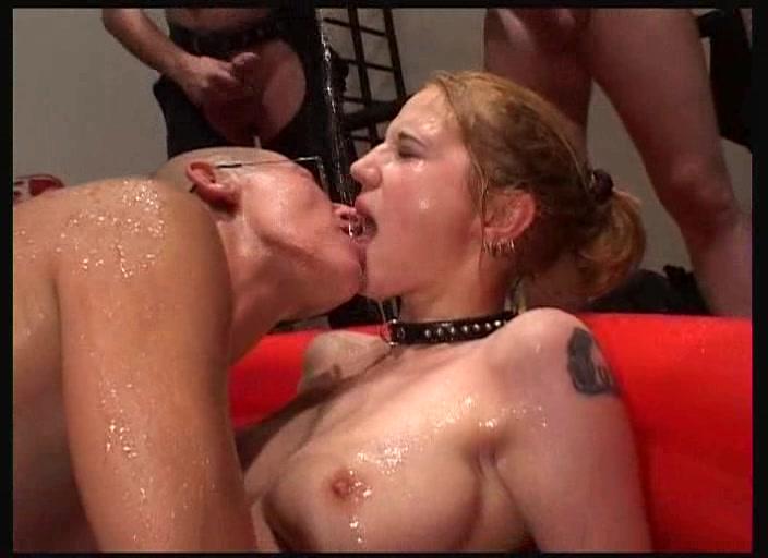 Sex slaves and bukkake