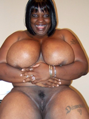 Thick big naked black women