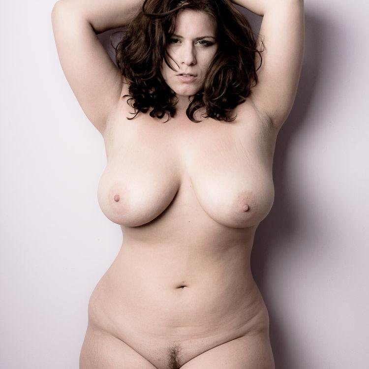 Naked super size woman