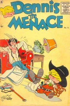 Alice mitchell comic dennis the menace porn