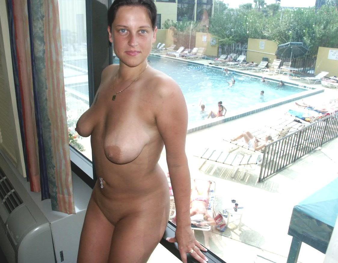 Ugly huge floppy saggy breasts