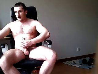 Lollipop boy eat cum