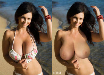 Topless denise milani naked