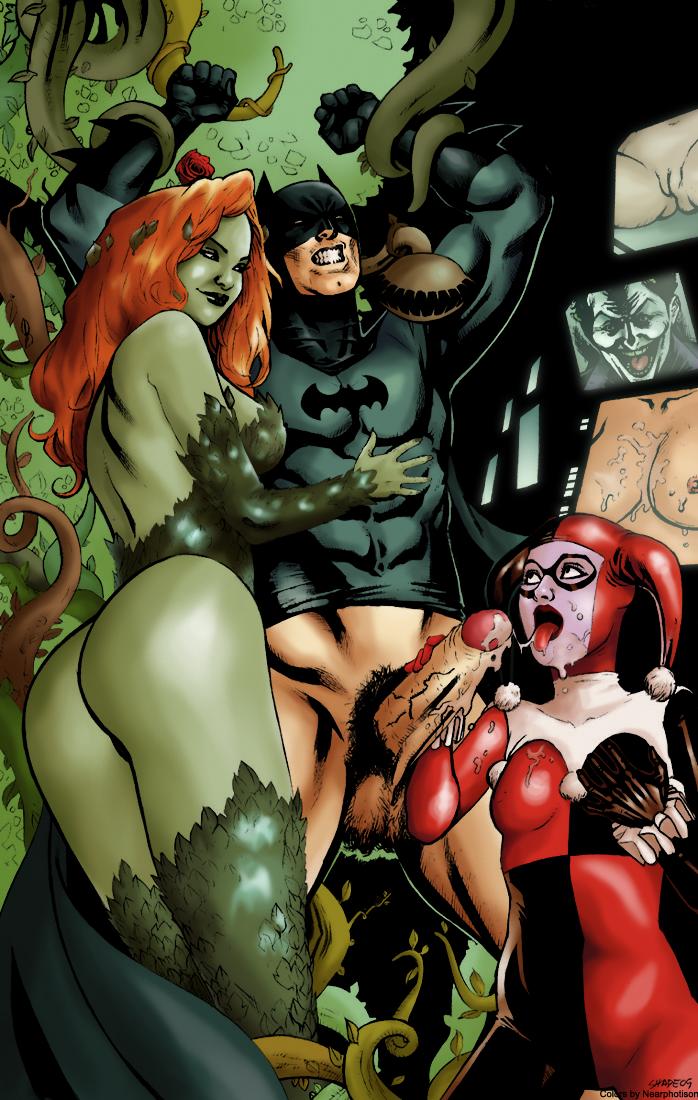 Dc comics poison ivy porn