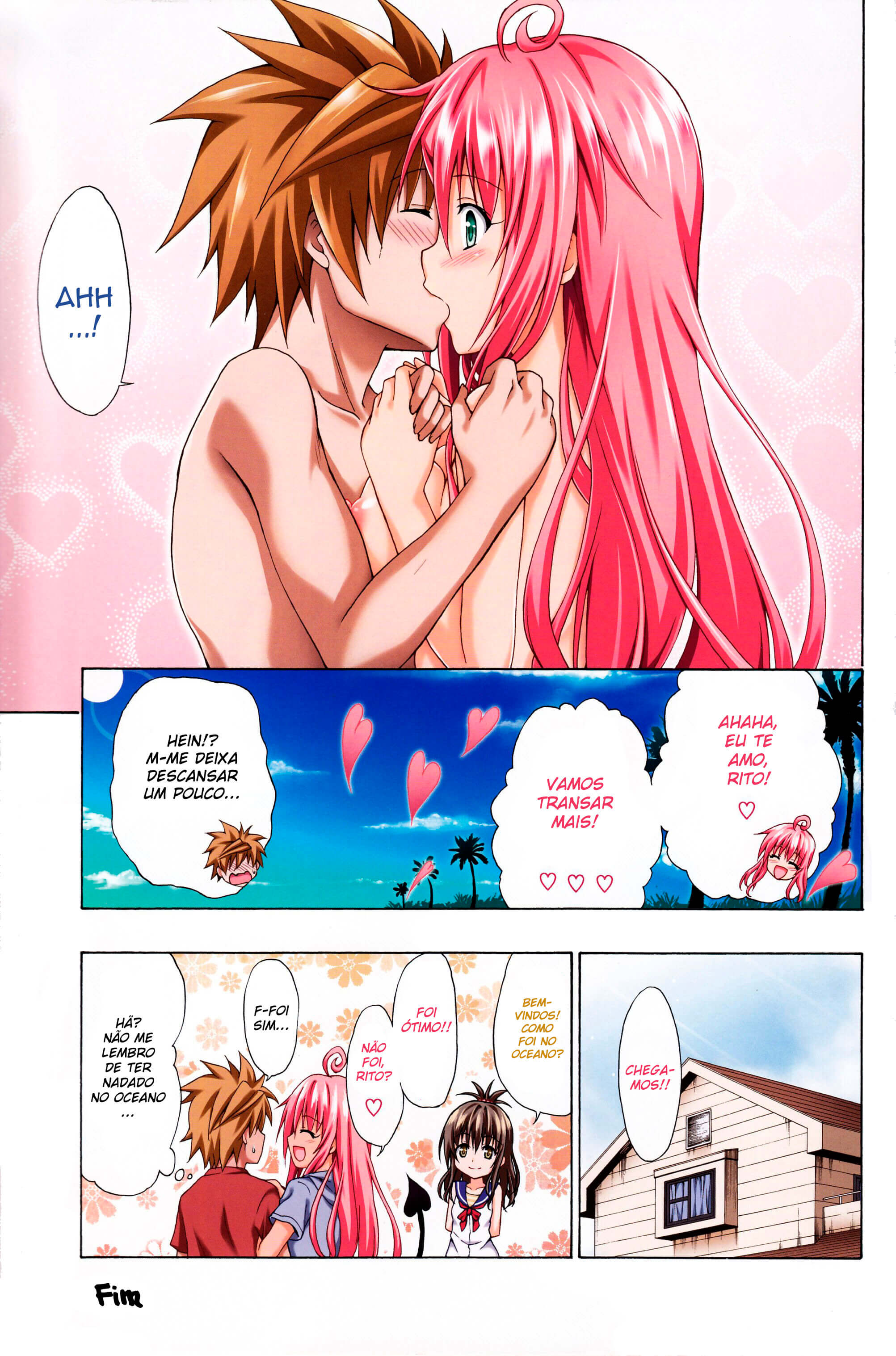 Manga to love ru porno