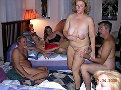 Nude couples swingers party