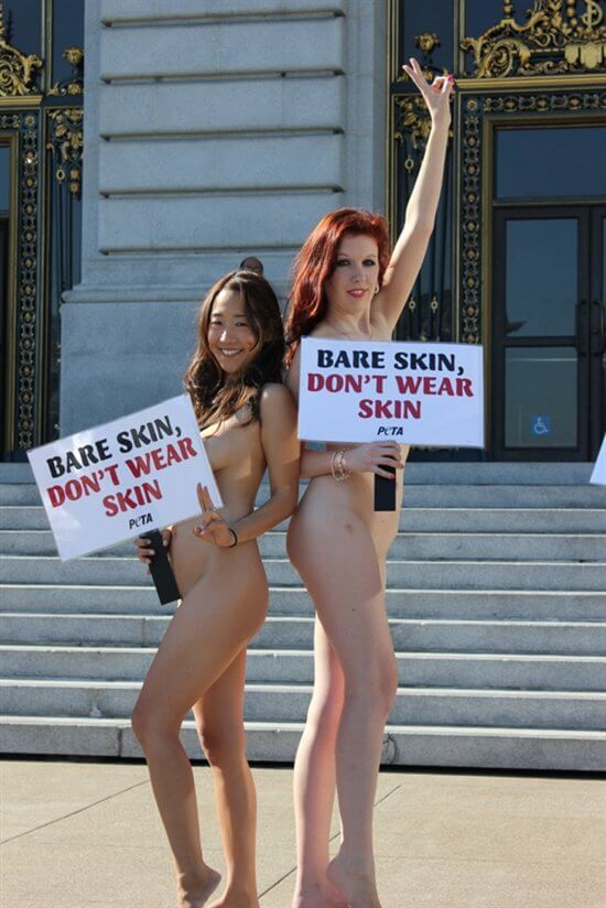 Naked girl in nude public san francisco