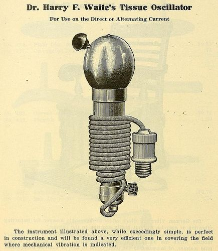 Illustrated use of vibrator