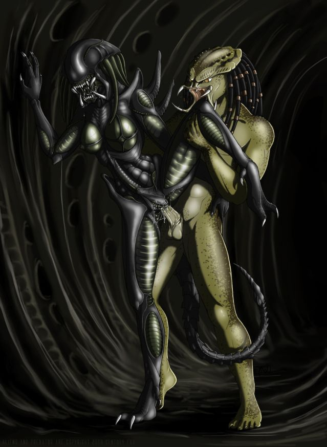 Aliens is predator porn