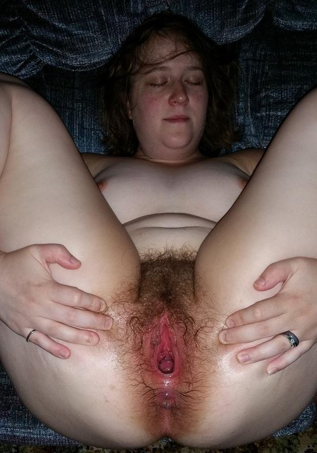 Gape homemade hairy mature