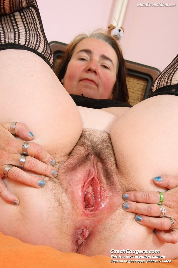 Mom unshaved hot black pussy