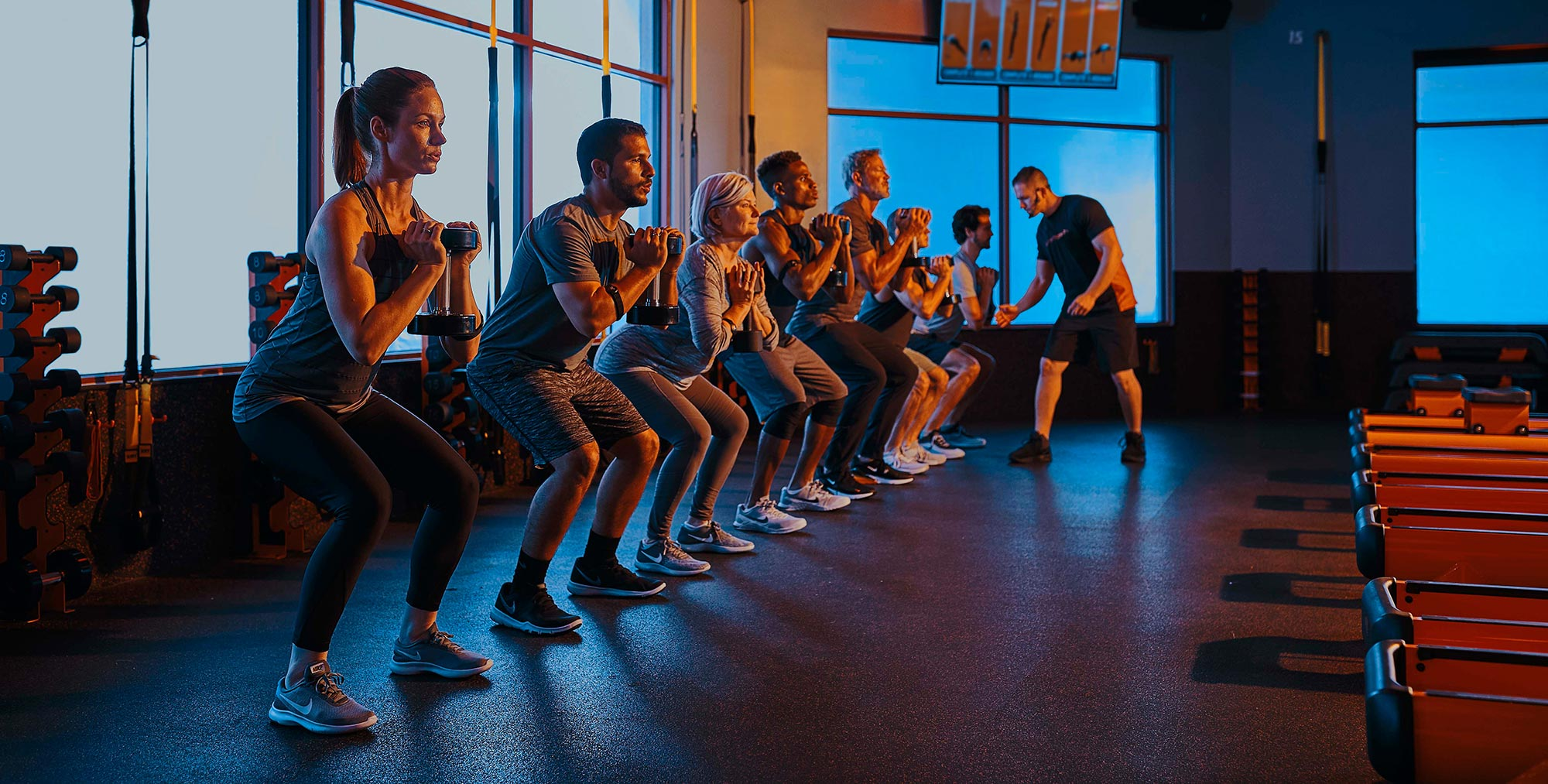 Los angeles teen exercise group