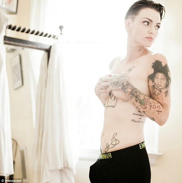 Ruby rose maxim nude magazine photos