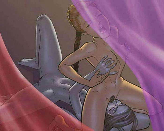 Star wars lesbian cartoon porn