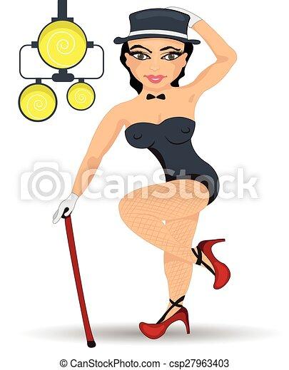 Sexy cartoon pin up girls
