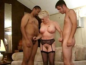 Black garter belt porn